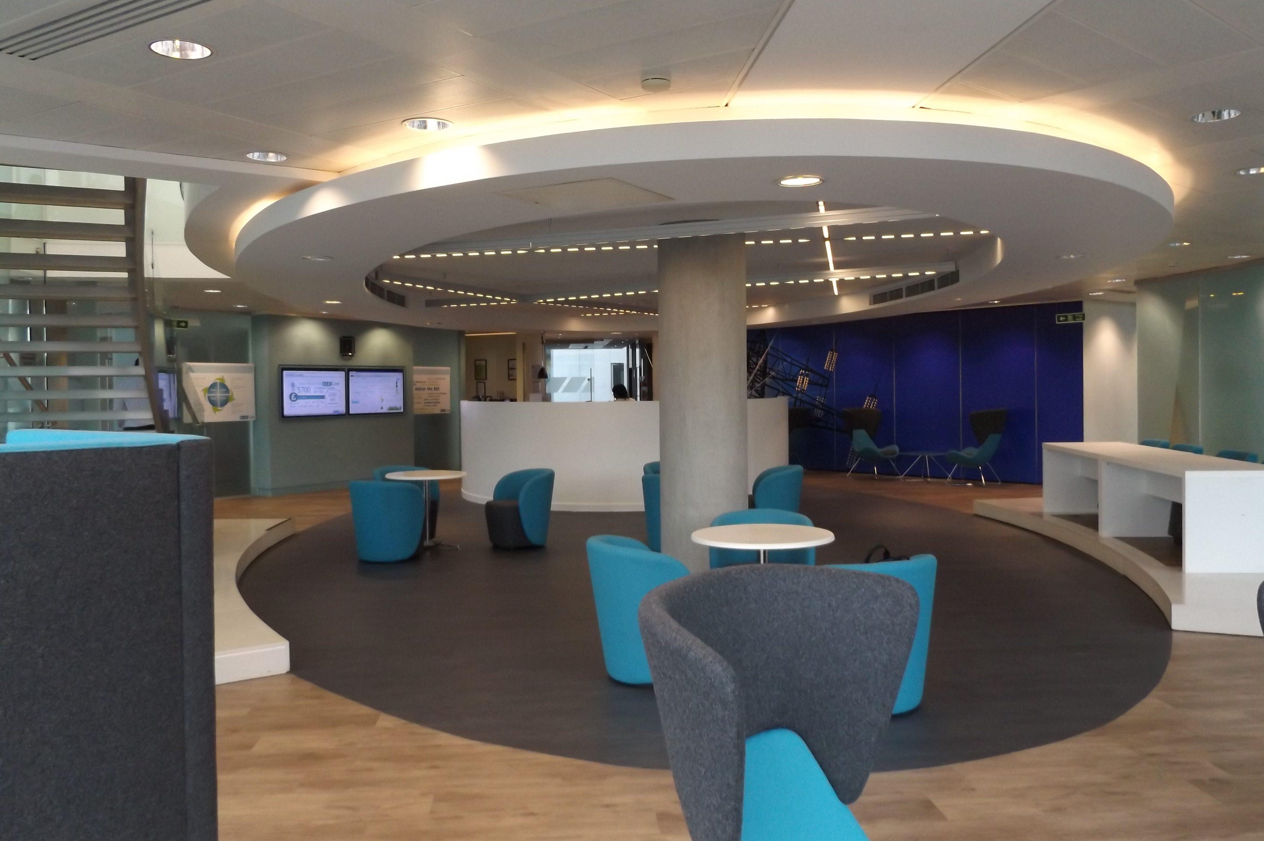 Flooring For A Modern Office E