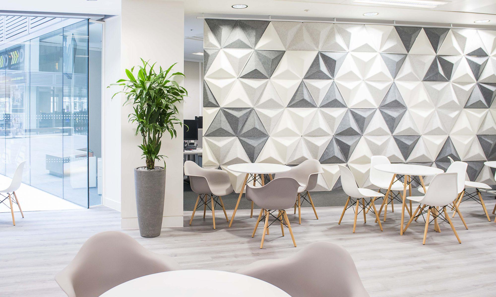 Great office design with Momenta Argento vinyl flooring