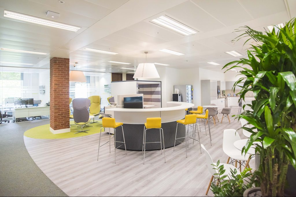 Office Space Design Trends: Office Design Trends For 2018 Focus On The Natural And