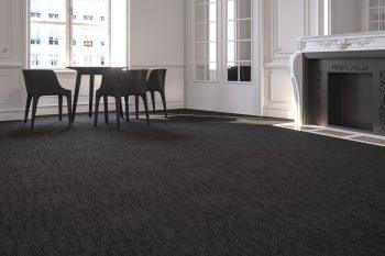 Freedom Bark Charcoal carpet tiles