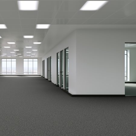 Checkstar carpet tiles in office
