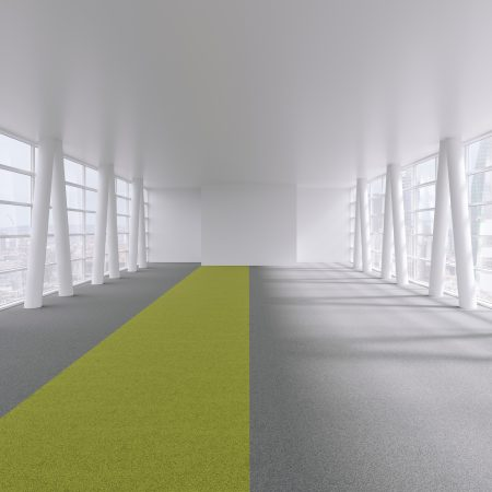 Visualise carpet tiles in office