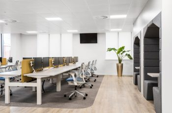 good office design with legal and environmental considerations
