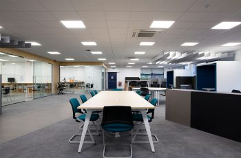 Good office design can increase productivity