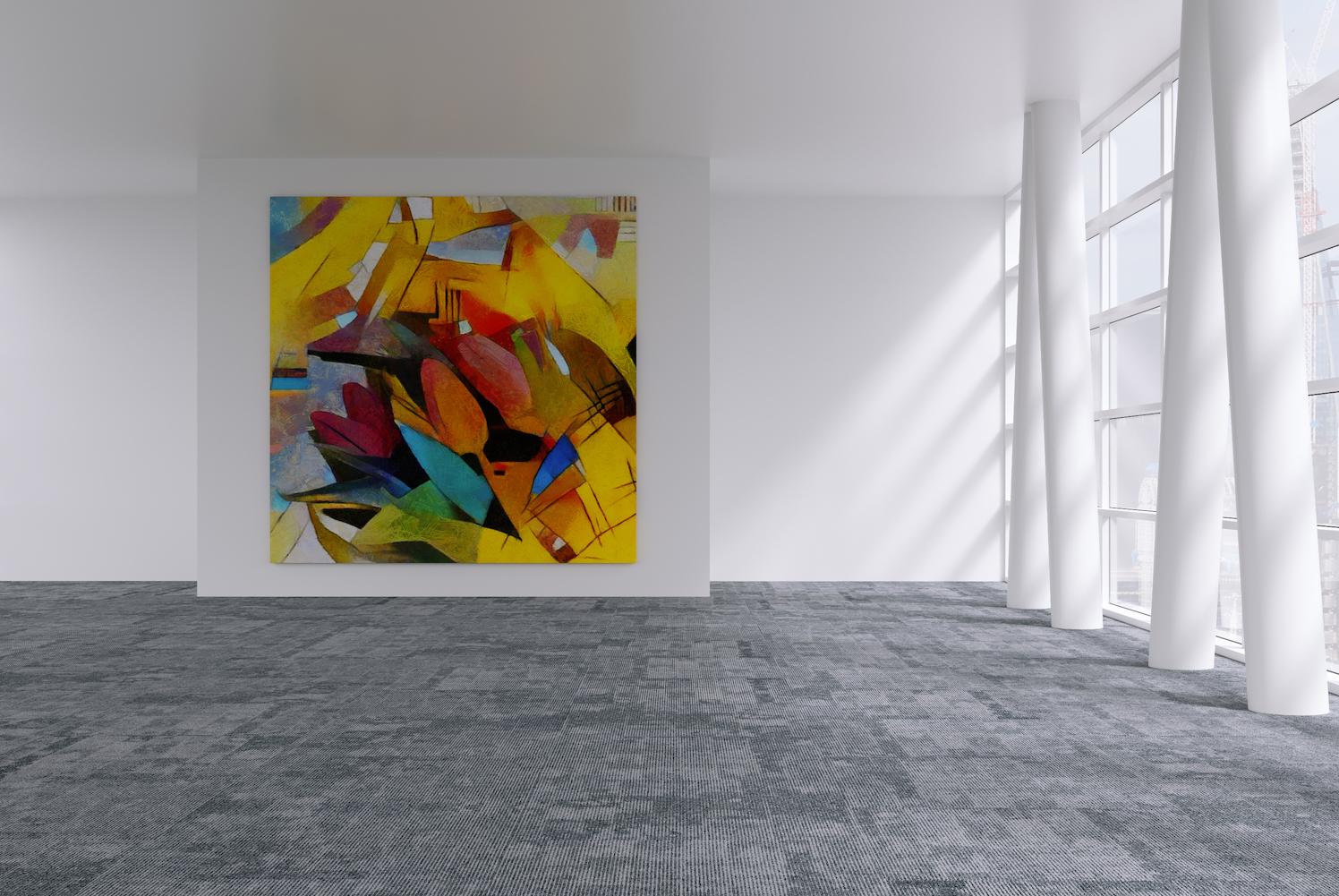 art deco design cubism
