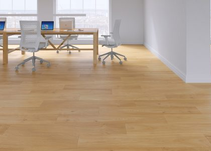 Cienna Amber Oak Safety Vinyl Flooring