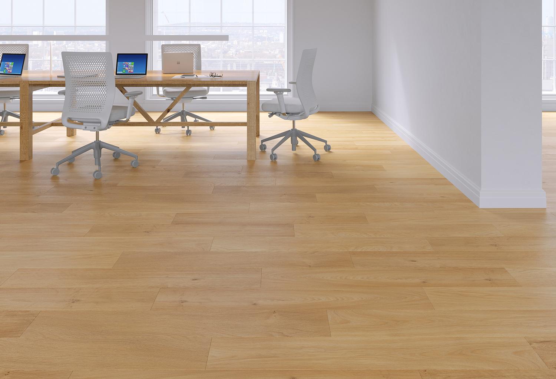 Cienna Amber Oak Safety Vinyl Flooring