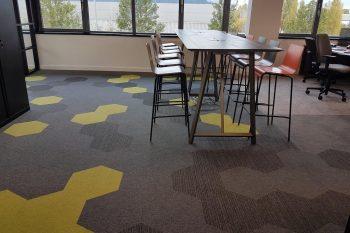 Hexxtile Floor flooring to boost morale