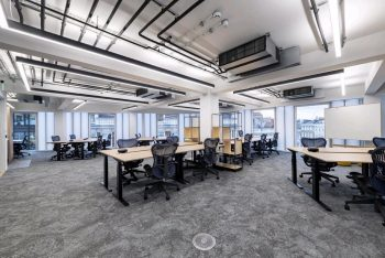 Plateau Carpet Tiles and example of choosing the best flooring for a business