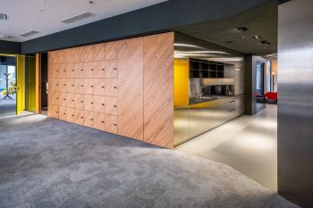 Freedom Storm carpet tile a sustainable office solution