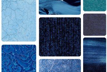 Colour trends interior design classic blue