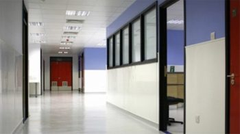 Antibacterial hygienic wall cladding