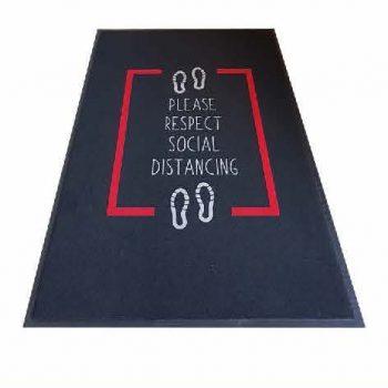 Product - Social Distancing Entrance Mat Portrait