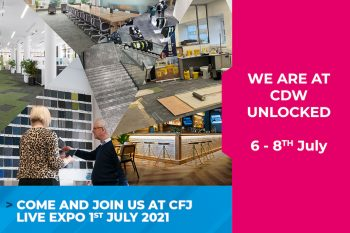 Banner Advert for CDW Unlocked and CFJ Virtual Expo